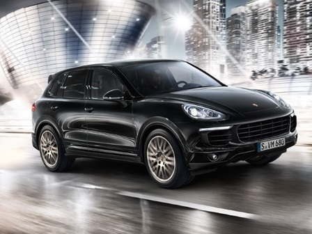 The Cayenne S E-Hybrid Platinum Edition.