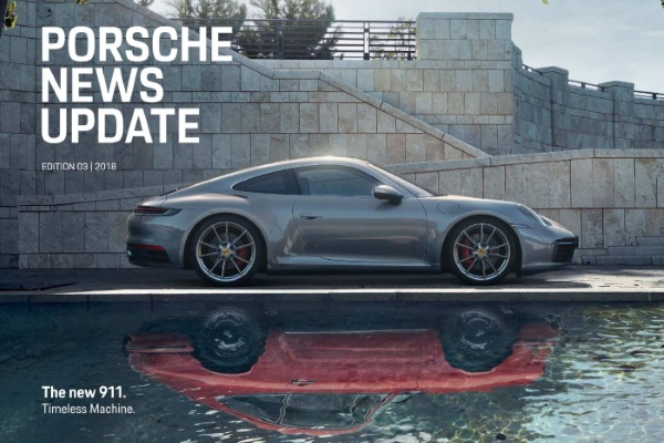 Porsche news update - Edition 3 2018